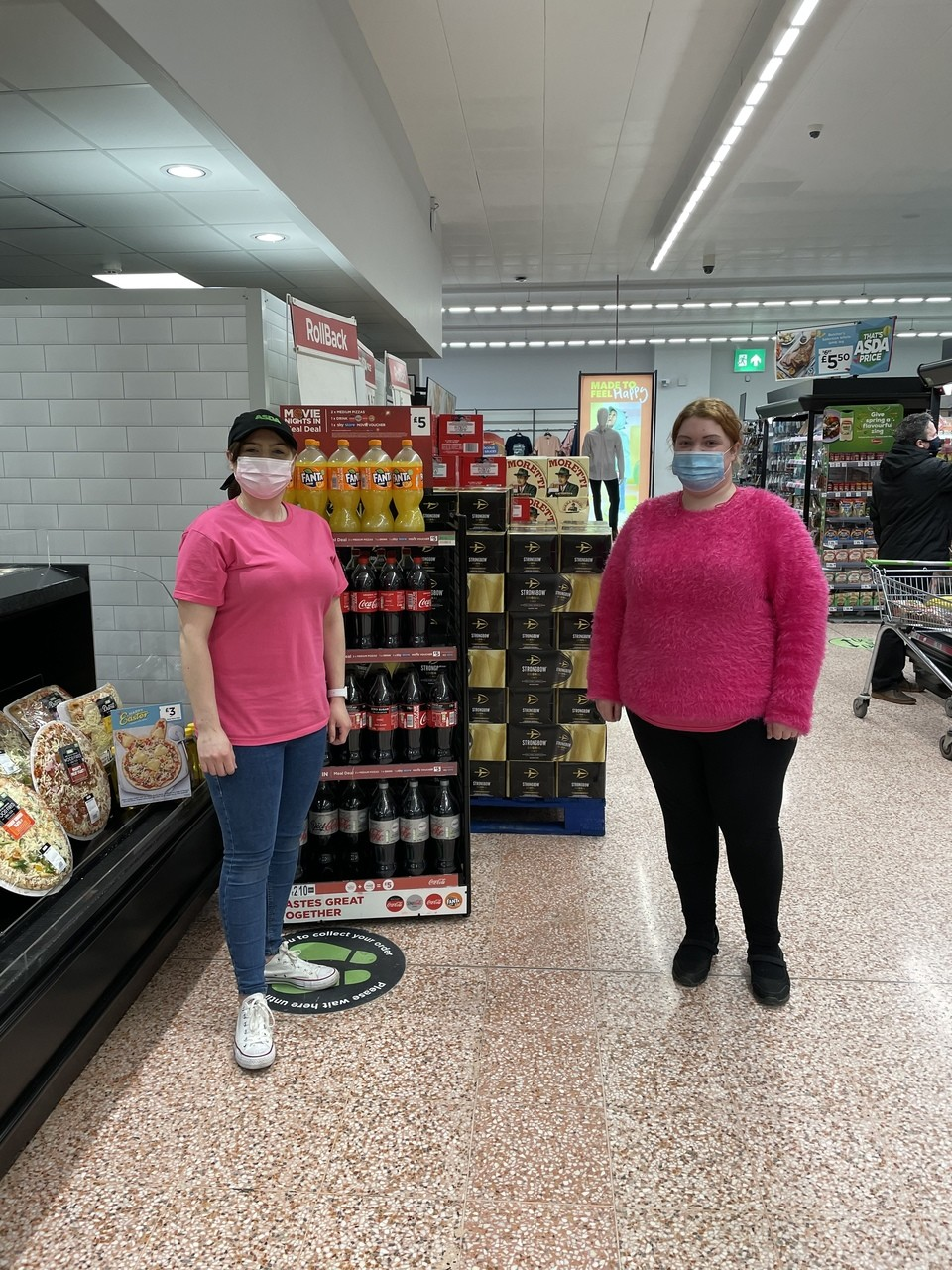 25 years of Tickled Pink   Asda Abbey Park