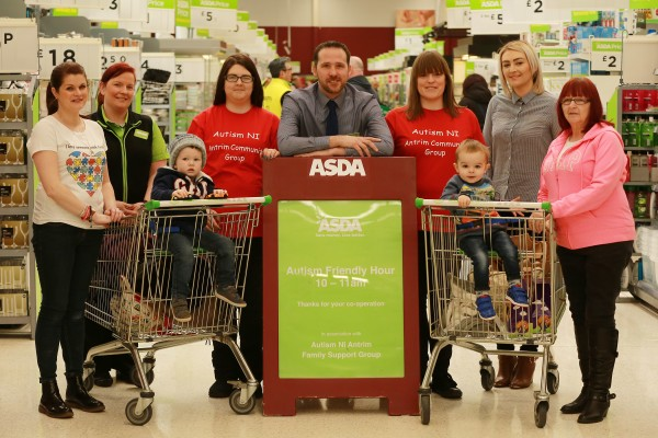 Asda Antrim are trialling an autism friendly quiet hour