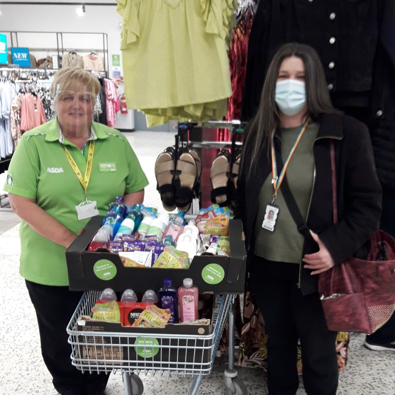 Looking after our NHS nurses | Asda Gosforth