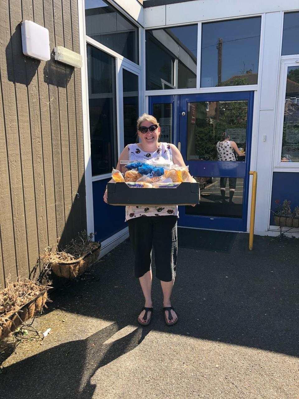 Donation to Ashbrook school | Asda Derby