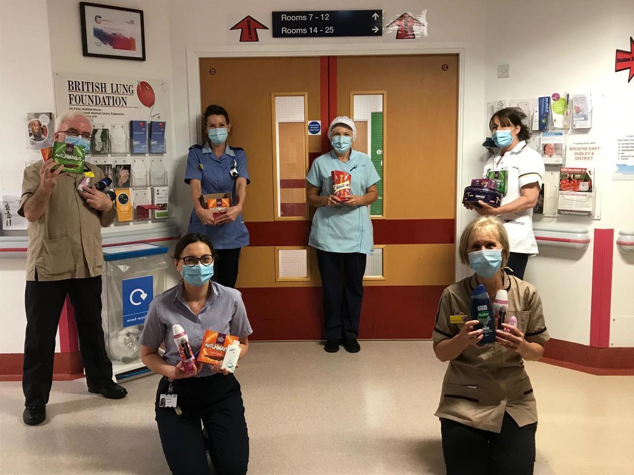 Hospital thank you | Asda Sedgley