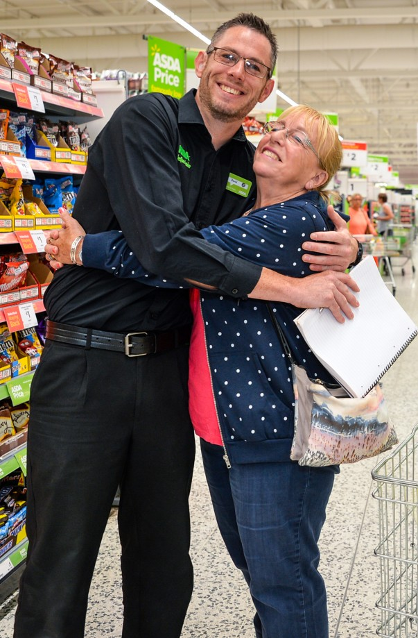 David Bould at Asda Morley is much loved by customers and colleagues