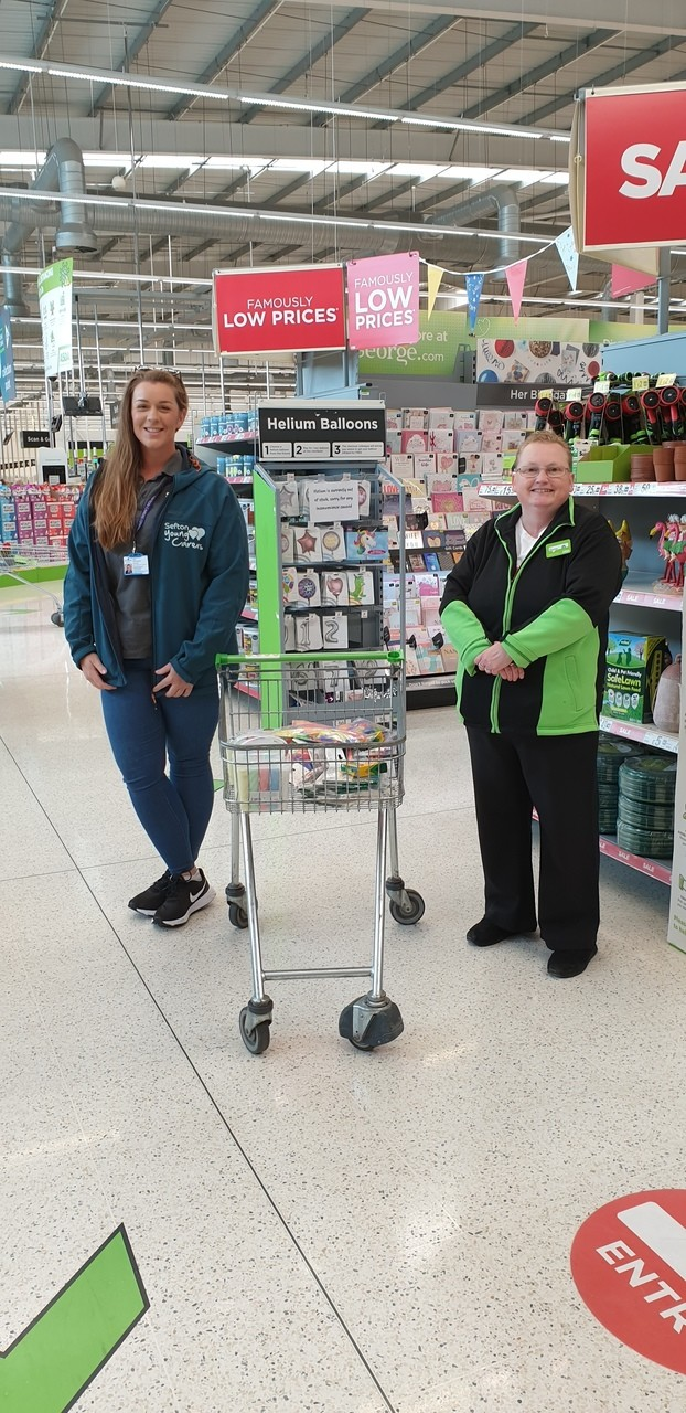 Sefton Young Carers | Asda Southport