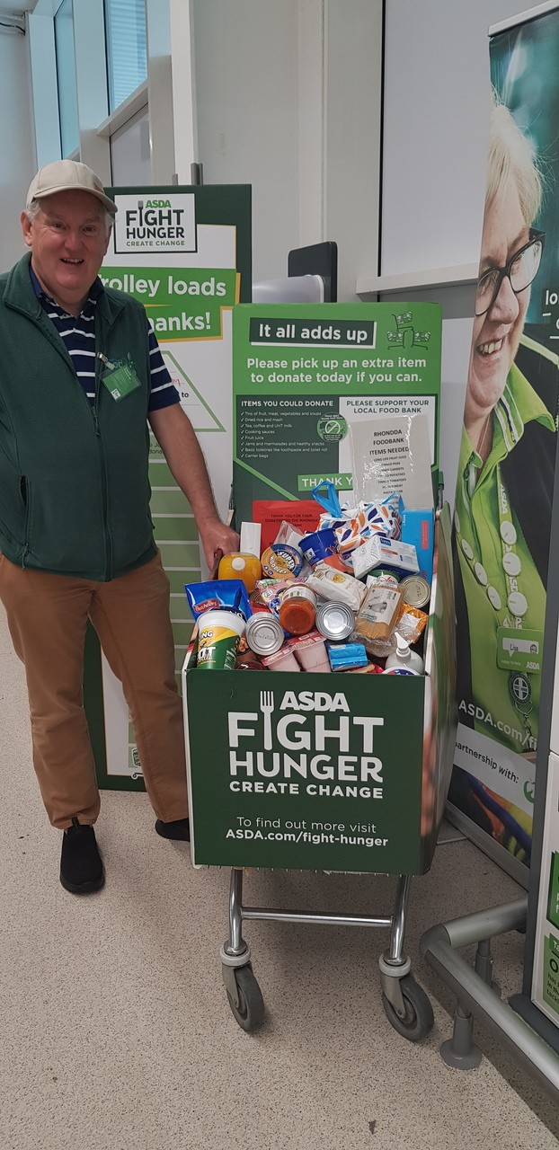 Fight Hunger Create Change | Asda Tonypandy