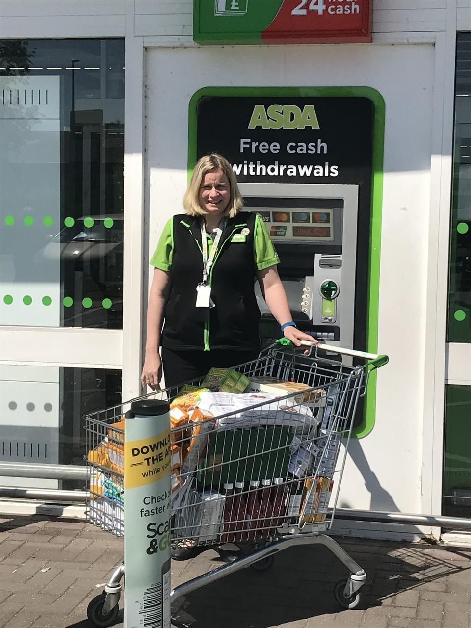 Gillingham Foodbank Donation | Asda Gillingham
