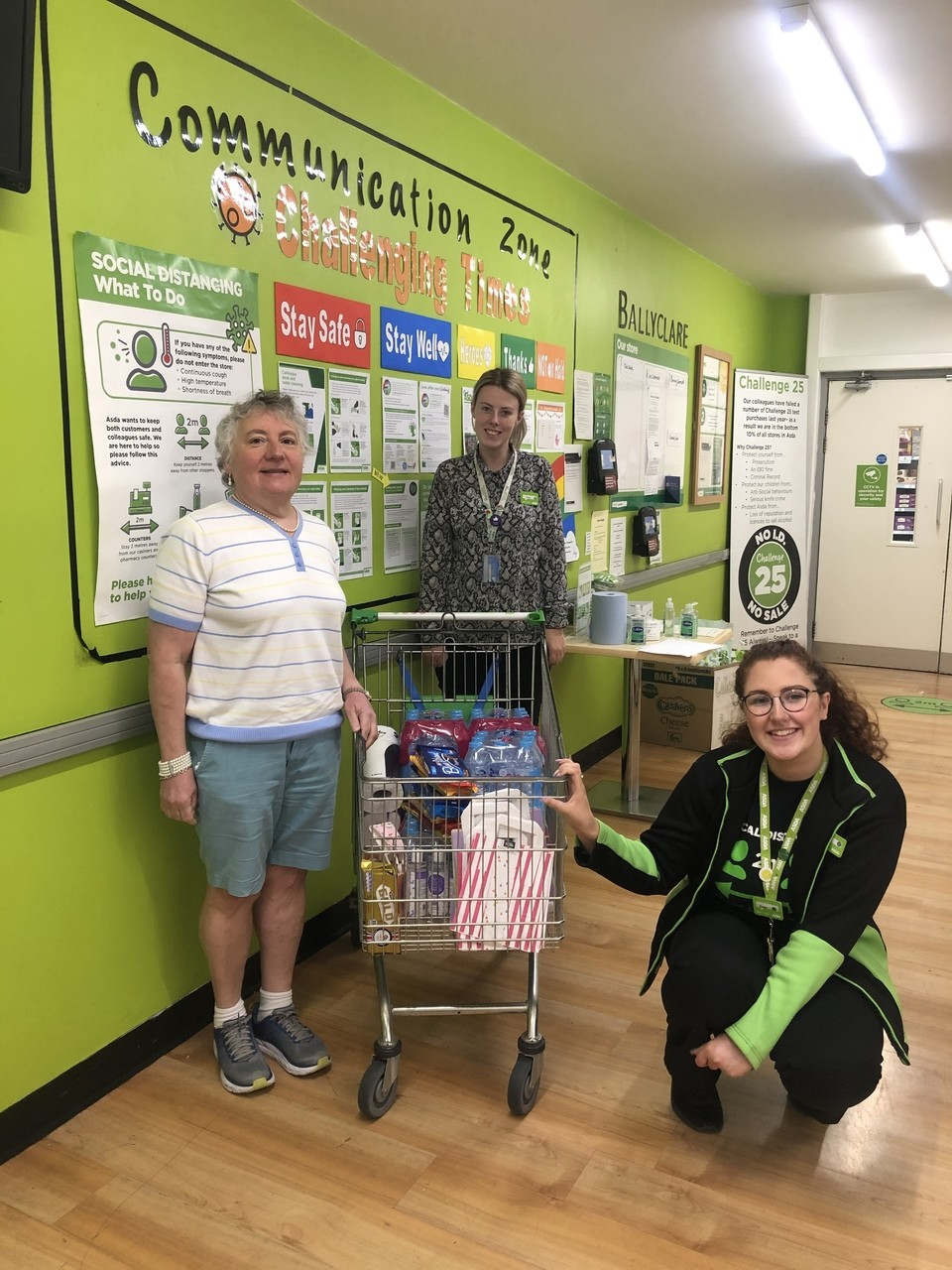Riding for the disabled donation | Asda Ballyclare