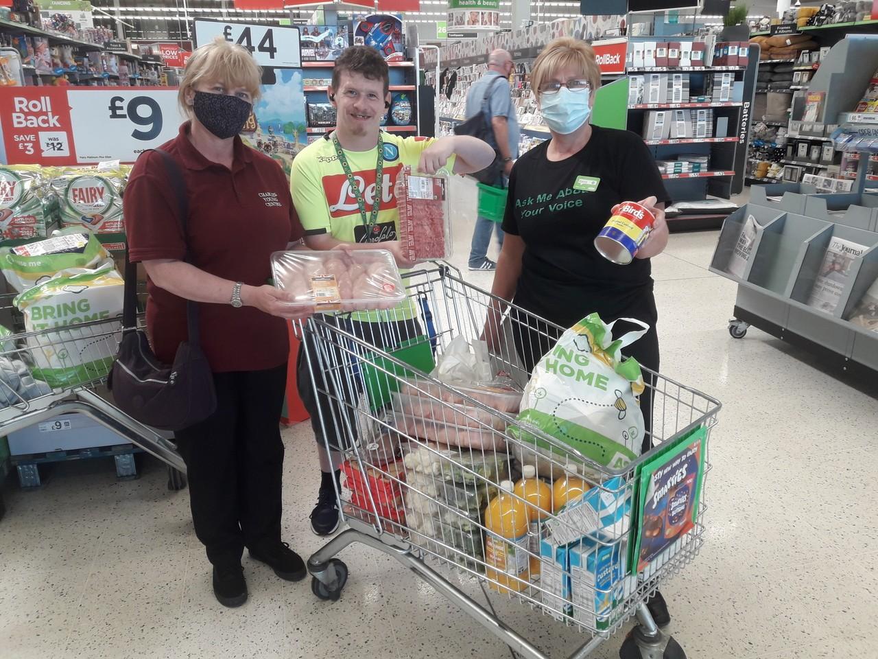 Donation time | Asda South Shields