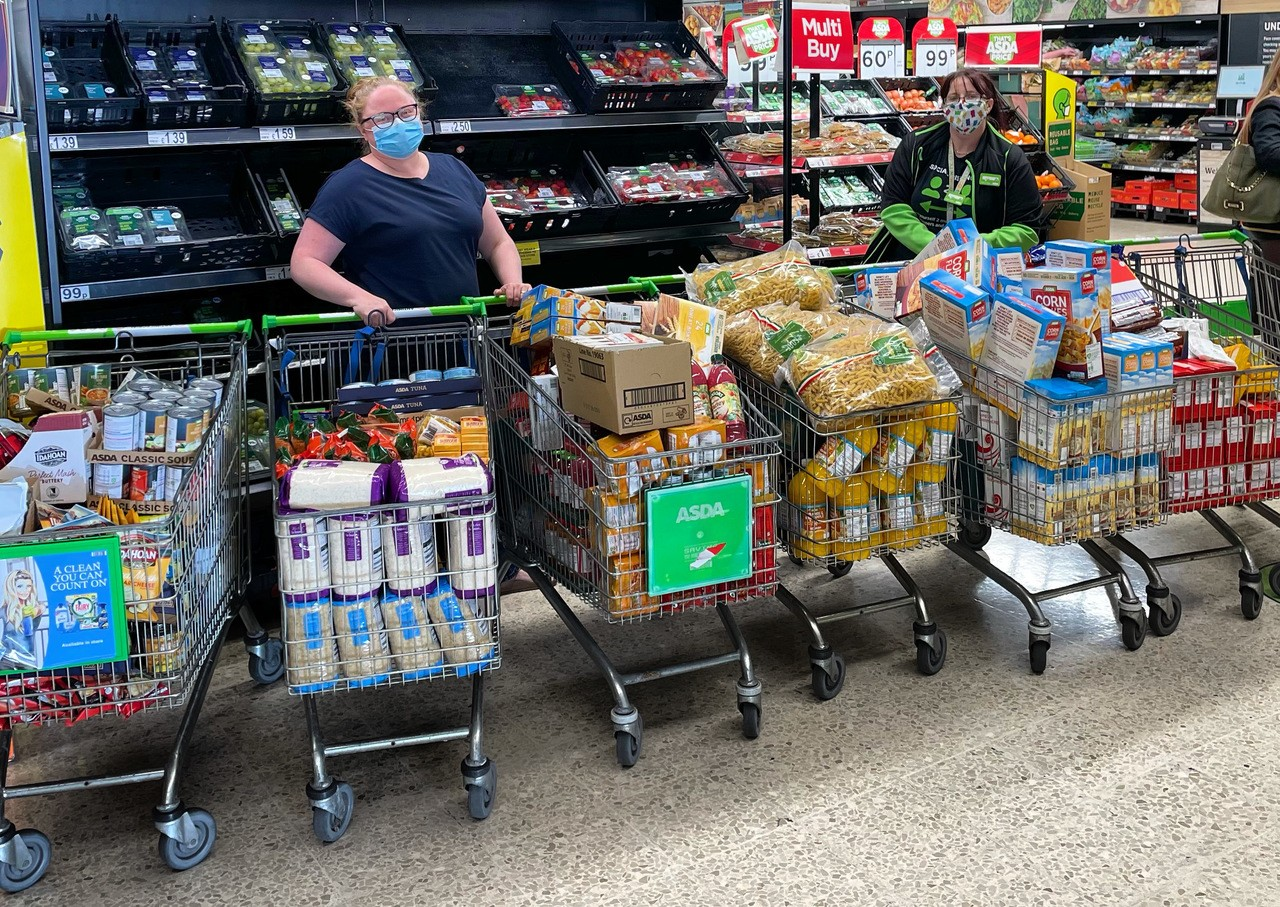 Supporting Oakley and Comrie Events and Activities Group | Asda St Leonards