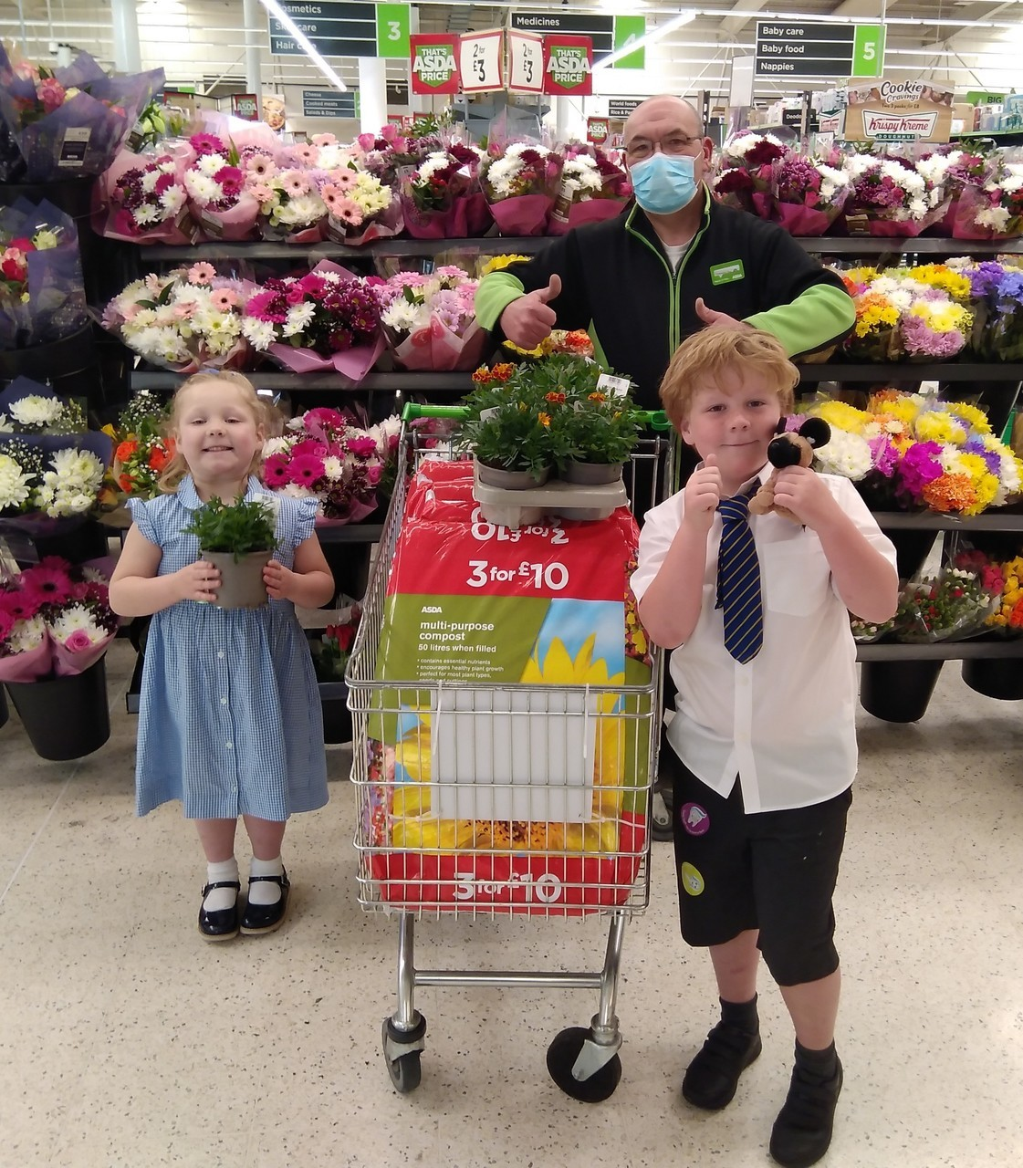 Stafford Support For At Austin's Veggie Patch! | Asda Stafford