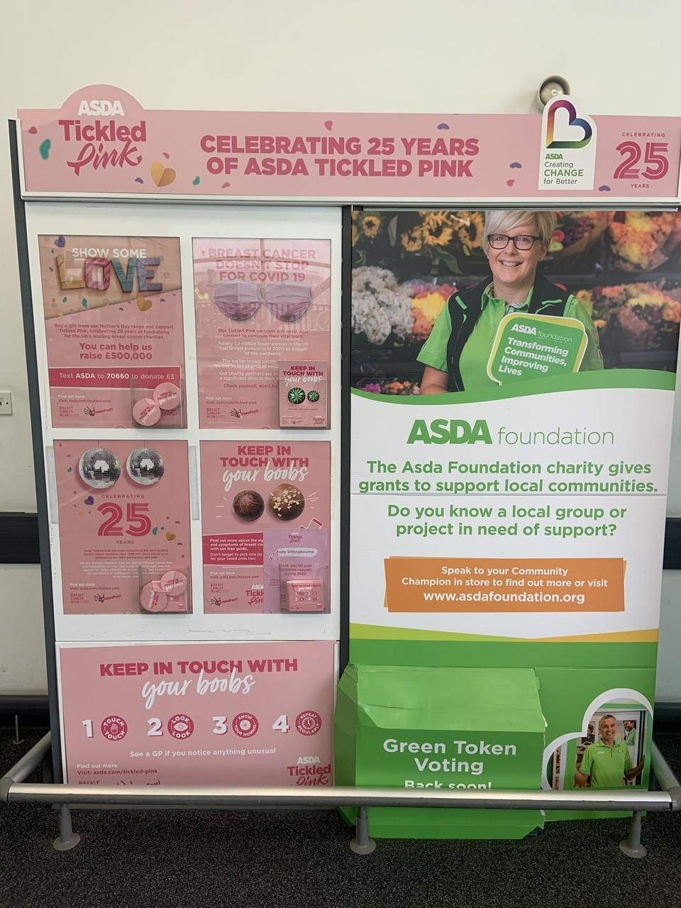 Tickled pink Community Board | Asda Sittingbourne