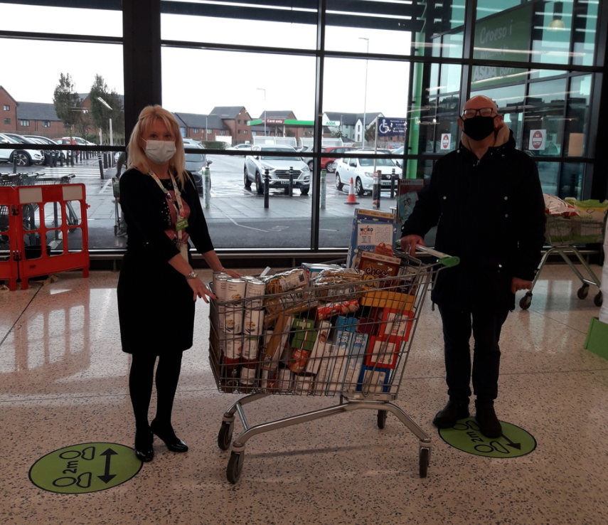 Supporting free school meals! | Asda Barry