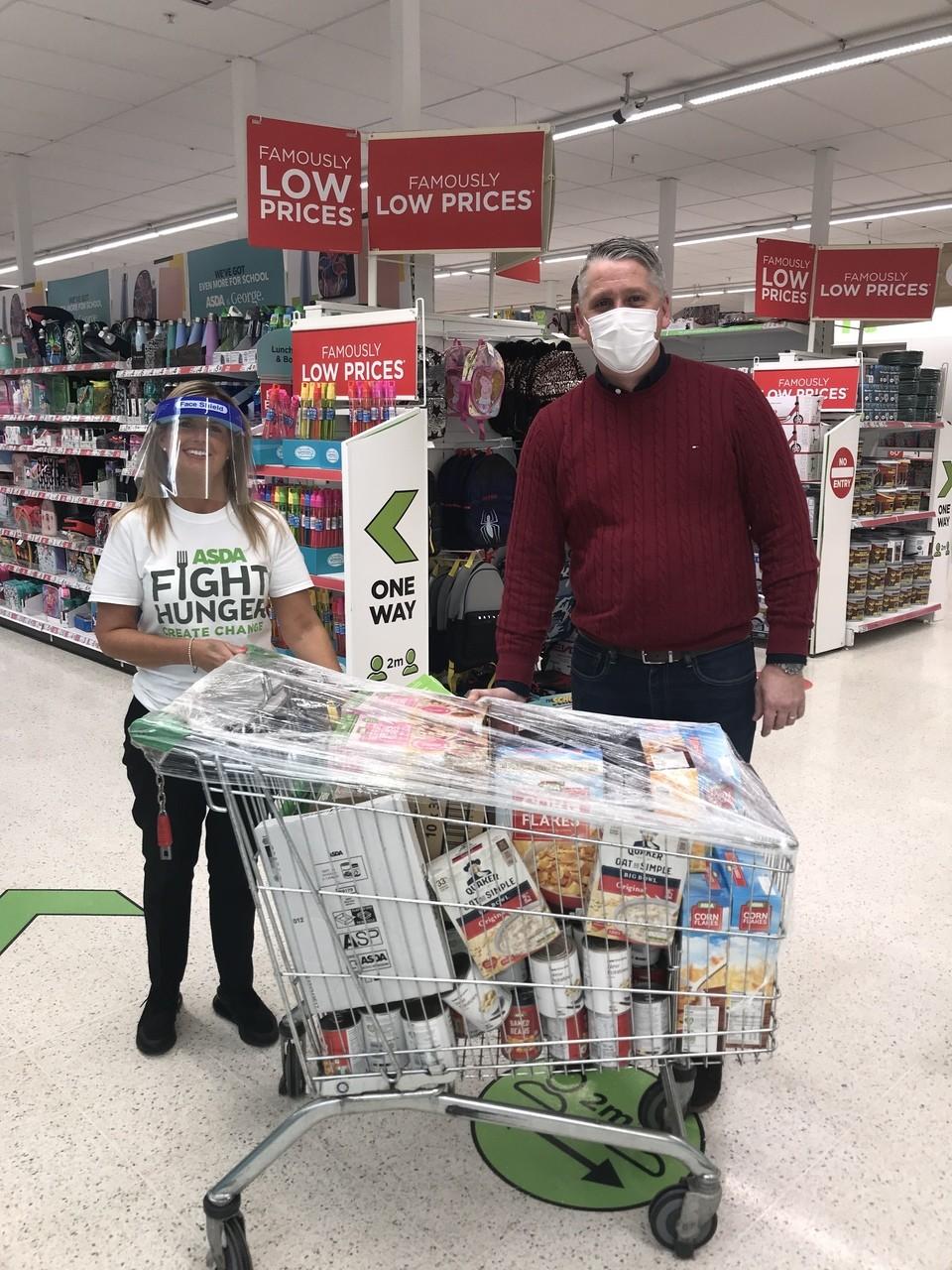 Donations to the Brunswick Centre! | Asda Robroyston
