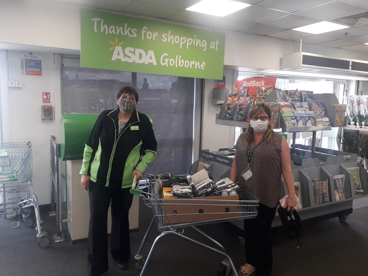 Donation to Lime House  | Asda Golborne