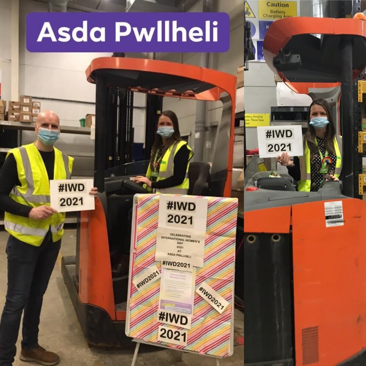 International Women's Day  | Asda Pwllheli