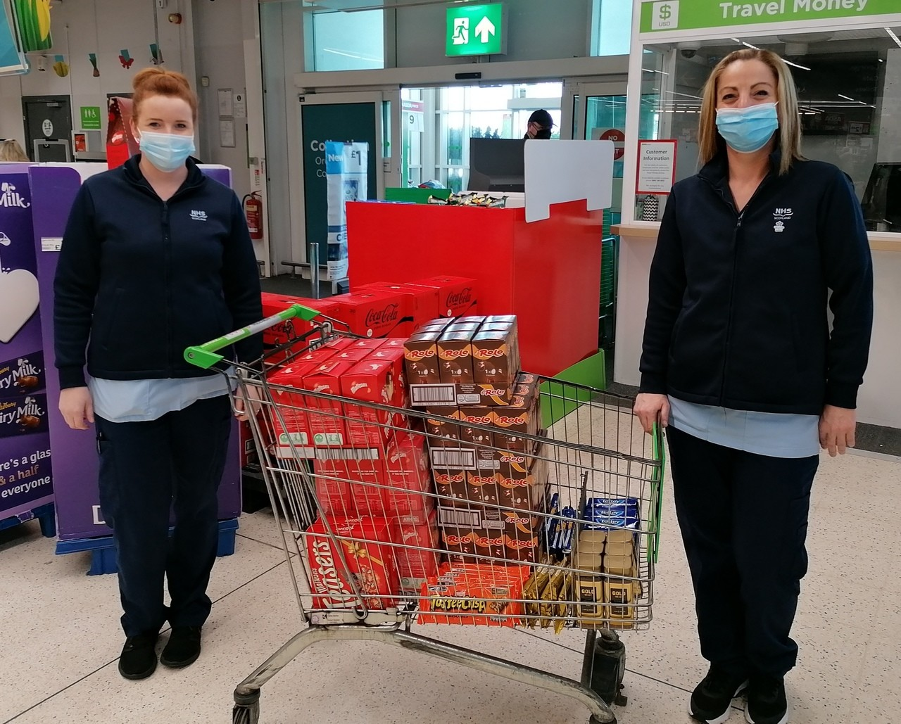 Easter Eggs donations | Asda Motherwell