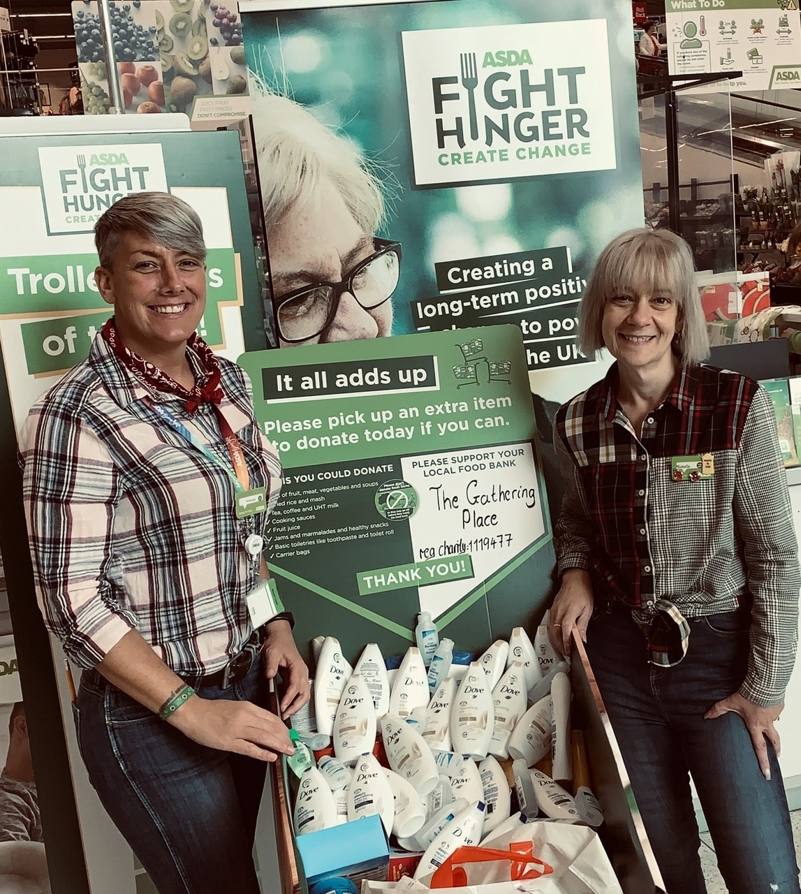 Thank you for supporting our local food bank | Asda Halifax