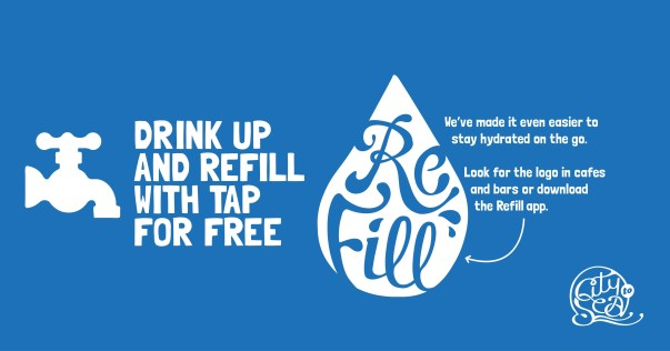 Refill campaign from City to Sea