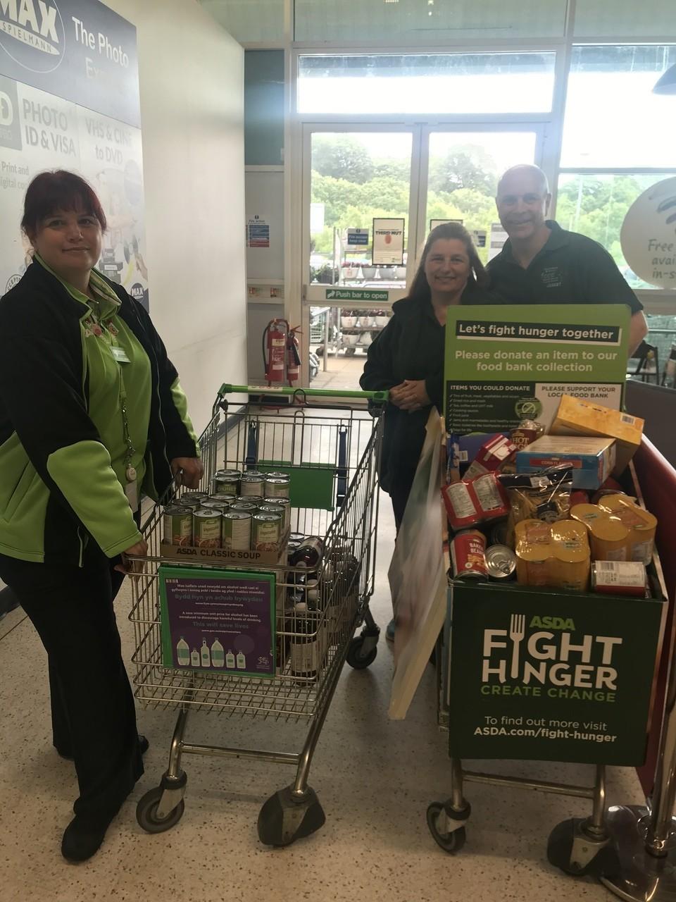 Food bank donation | Asda Blackwood