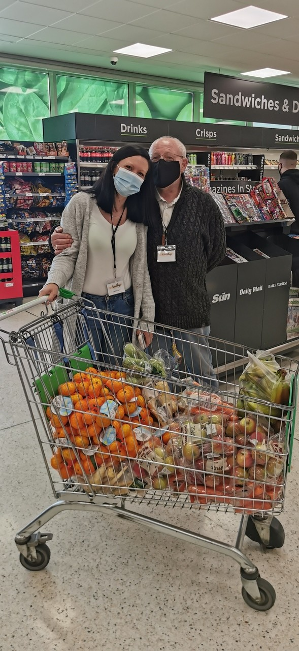 Free shop Crawley offering free food to families who need it.  | Asda Crawley