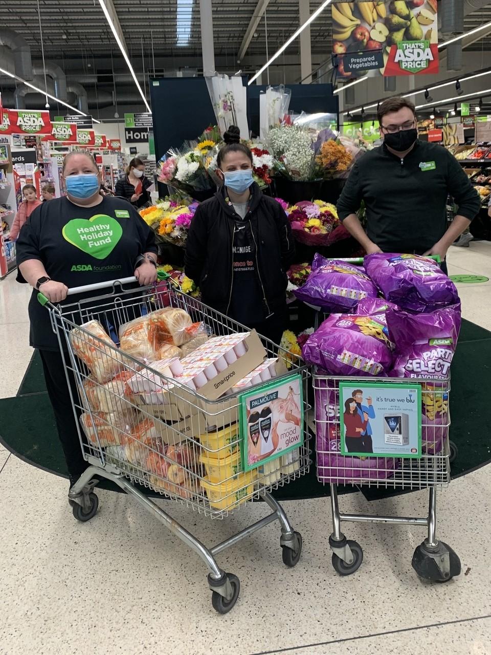 Feeding the kids through the holidays | Asda Dewsbury