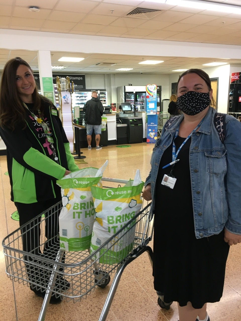 Donation of arts and crafts for Headway  | Asda Longwell Green