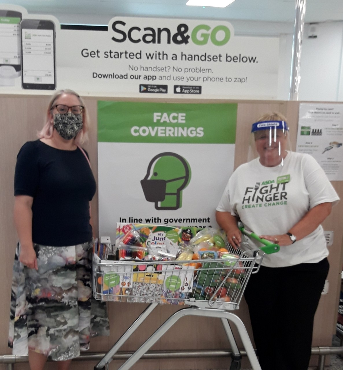 Supporting our community   Asda Gosforth