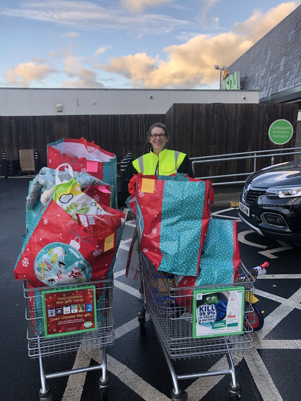 Gift appeal thanks | Asda Wakefield