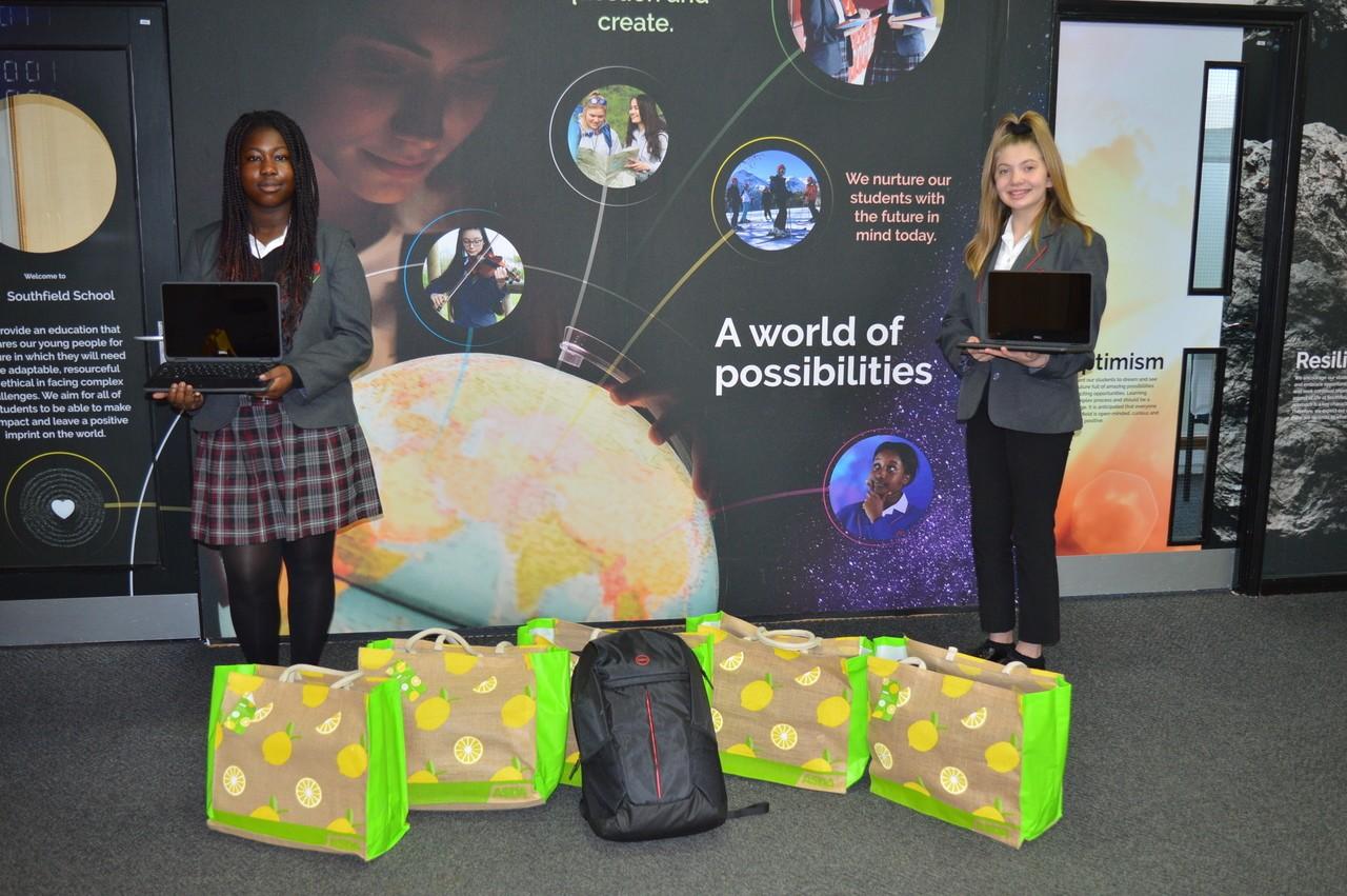 Laptop donation | Asda Kettering