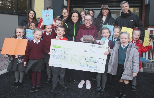 Asda Belfast Westwood Asda Foundation £20,000 donation