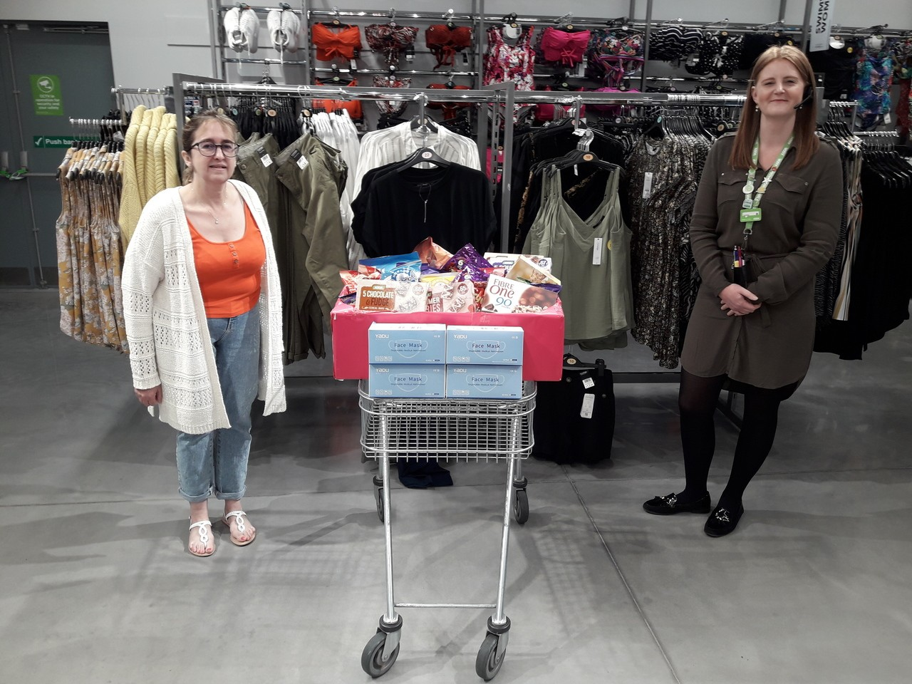 Care Home Donation | Asda Barnstaple