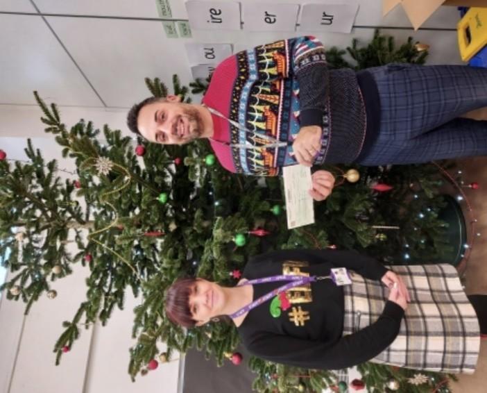 Asda Foundation Grant for Christmas Church Primary School Hanham | Asda Longwell Green