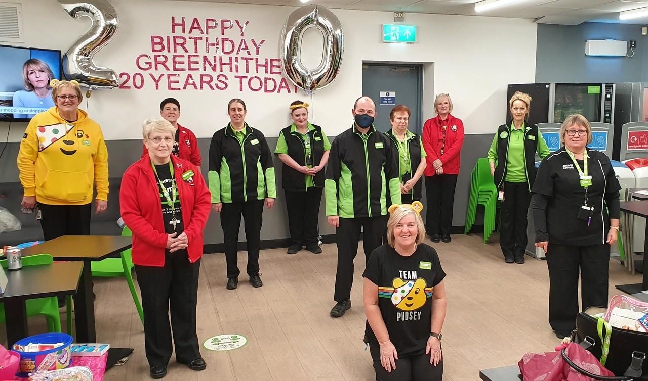 20th Birthday Asda Greenhithe | Asda Greenhithe