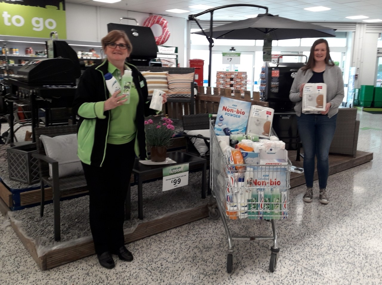 Time for donations | Asda Kirkcaldy