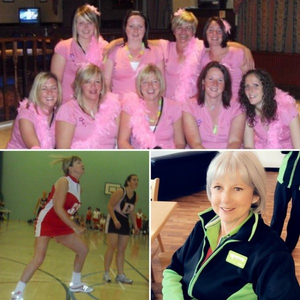 Ann-Marie from Asda Halifax still plays netball at the age of 62