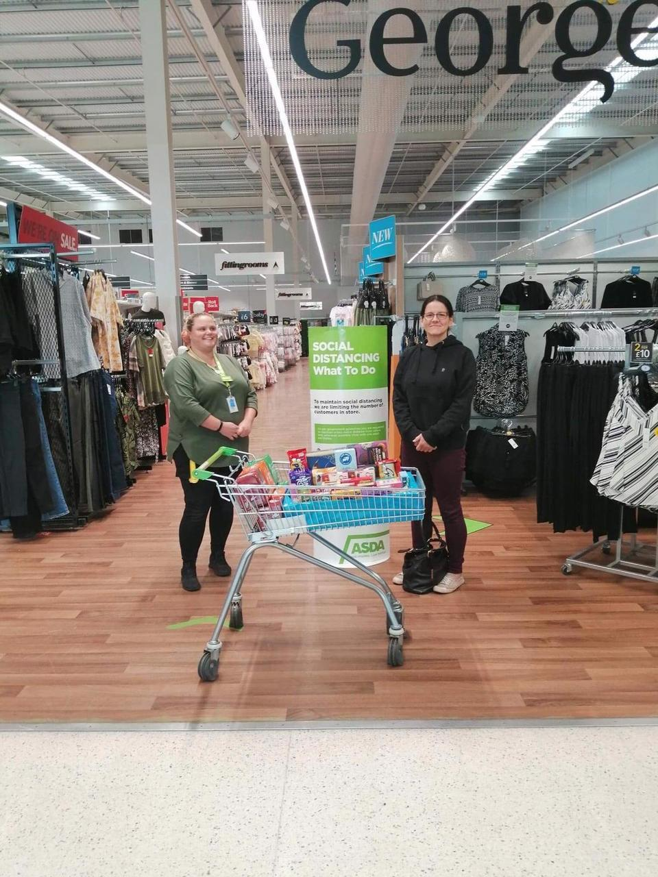 Donation for Princess Royal Hospital Respiratory Ward 17 | Asda Telford