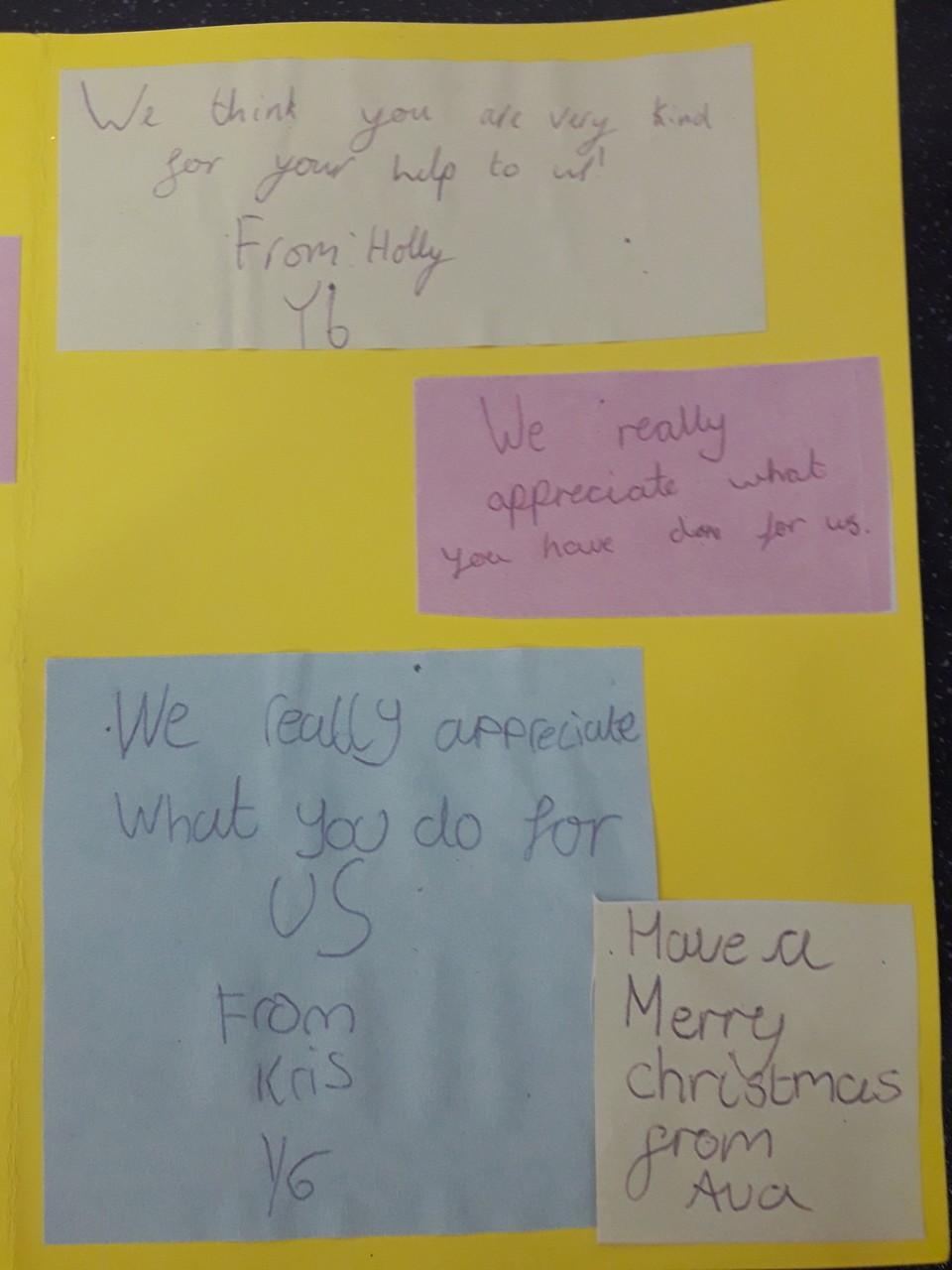 CHRISTMAS CARD THANK YOU | Asda Reddish