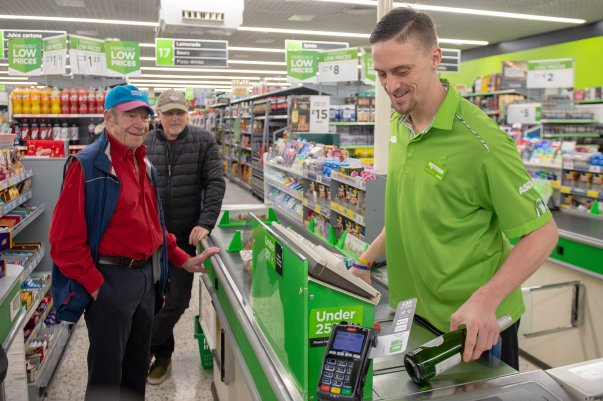 Tom Hines from Asda Eastbourne is a firm favourite with customers and colleagues