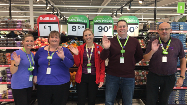 Purple Tuesday at Asda Clacton-on-Sea