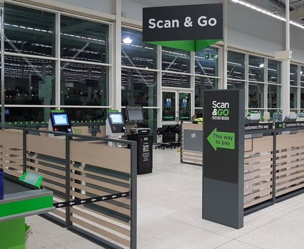 Newport Scan & Go checkouts