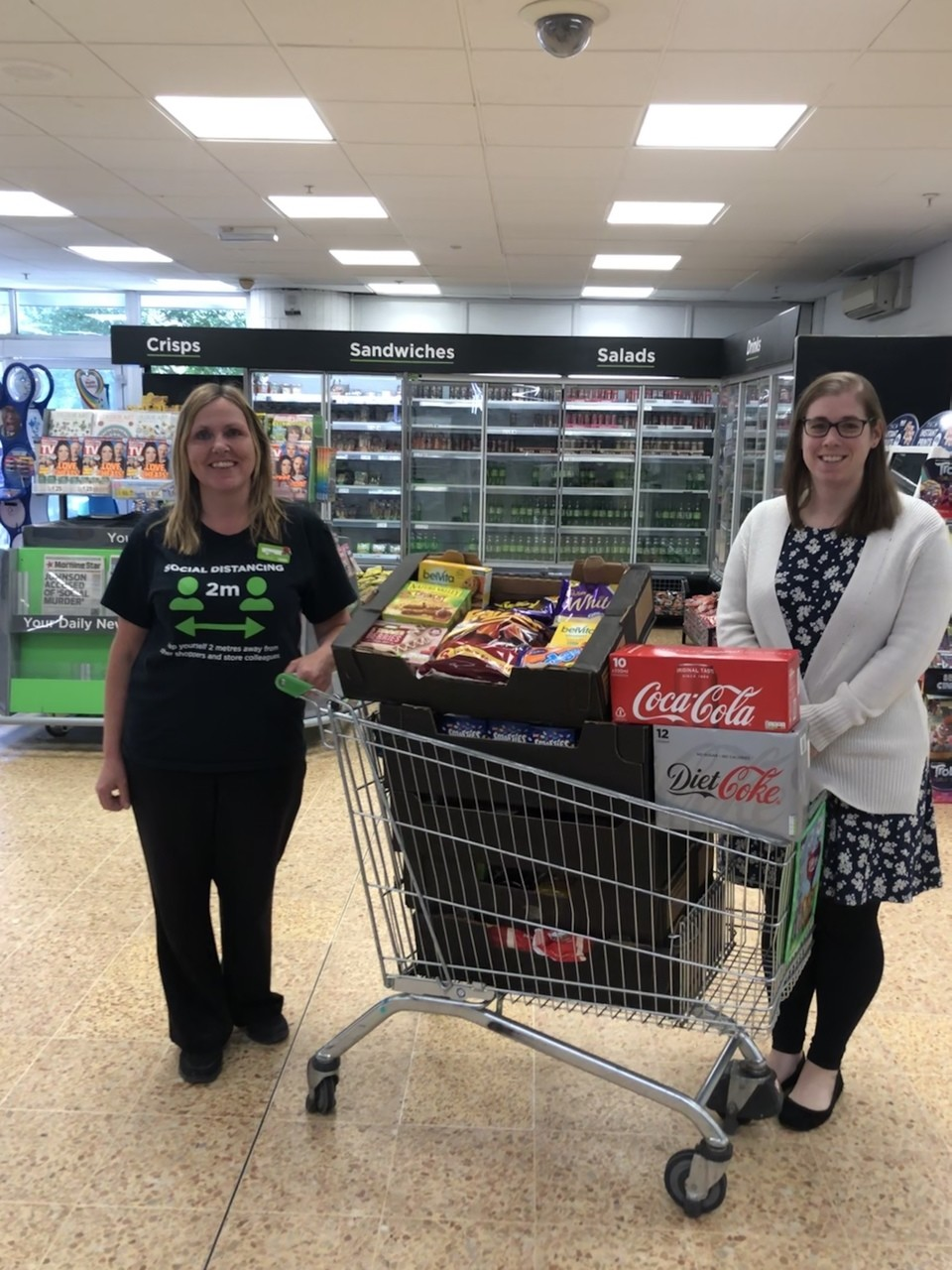 Hospital donation | Asda Waterlooville