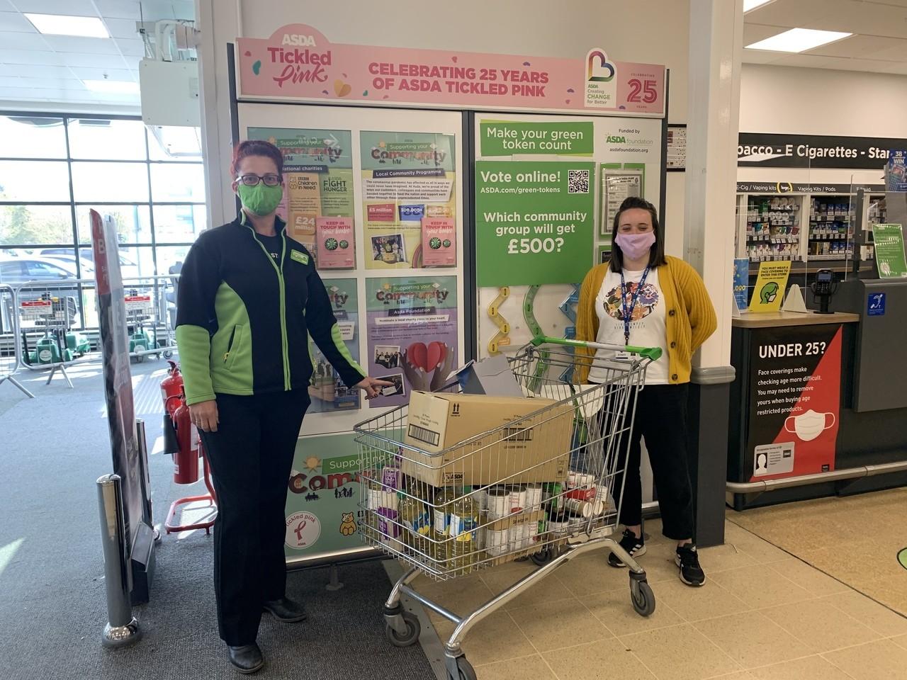 Donation for Bourneville School | Asda Weston-super-Mare