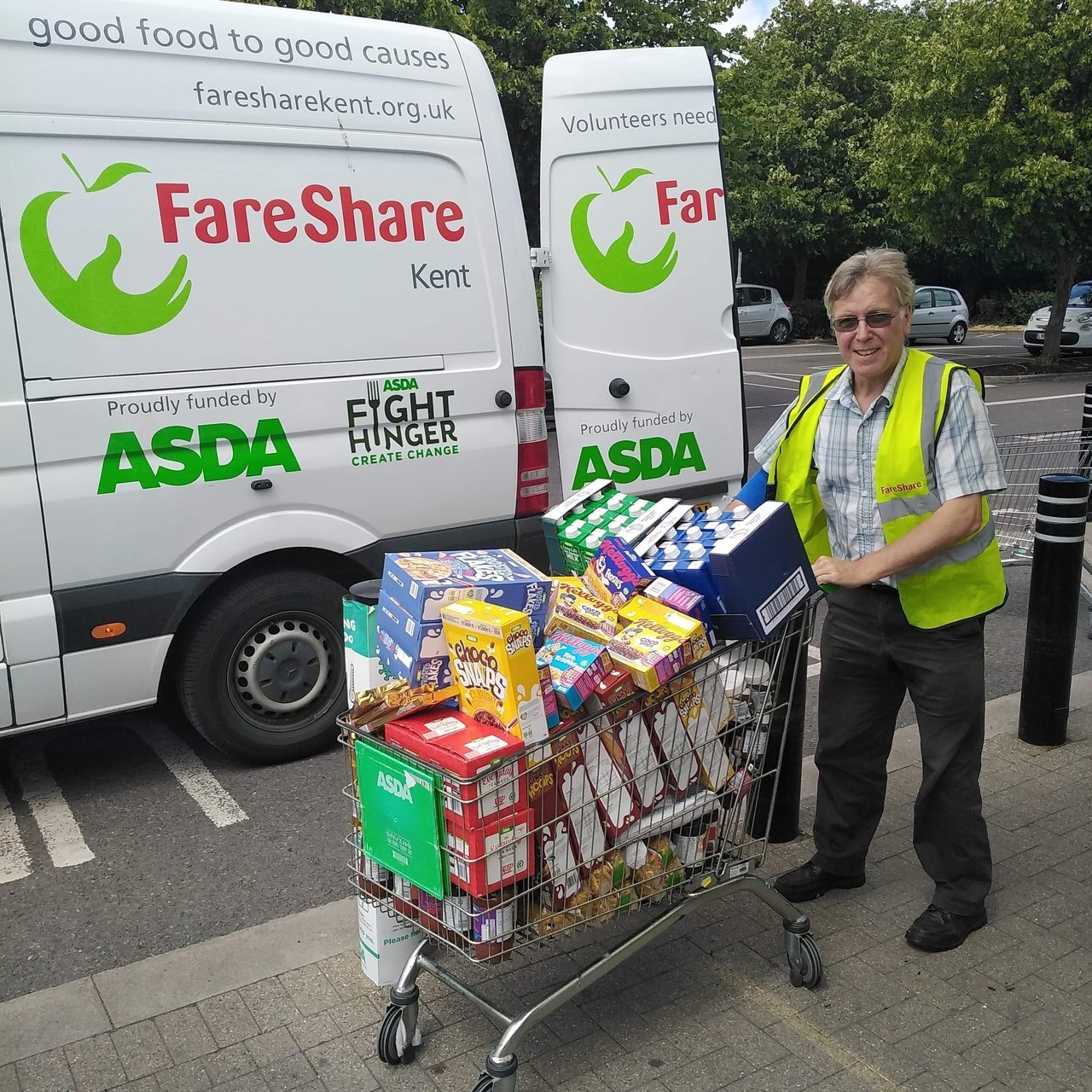 Donation of grocery items for food banks  | Asda Broadstairs