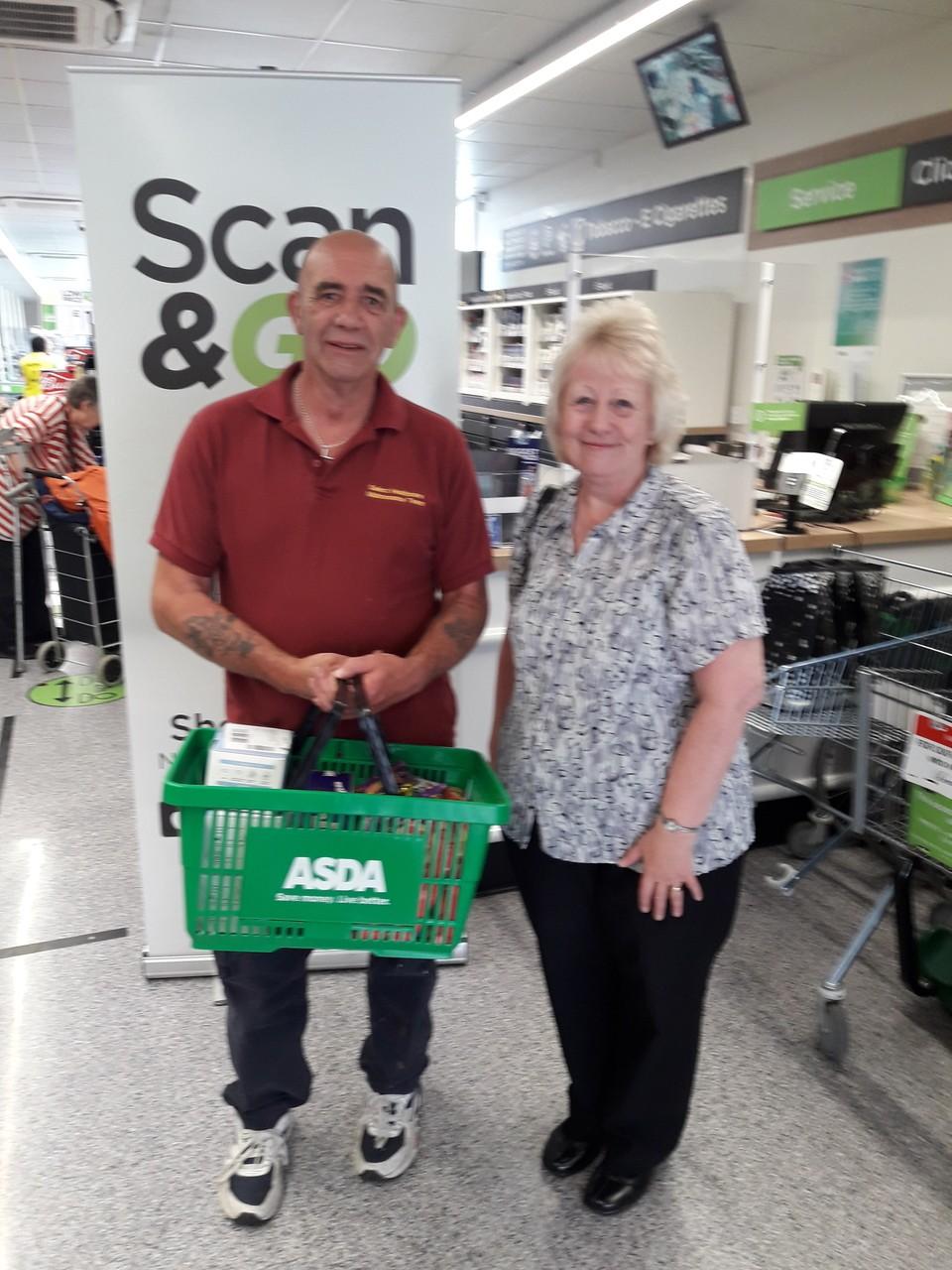 Donation time | Asda Sedgley