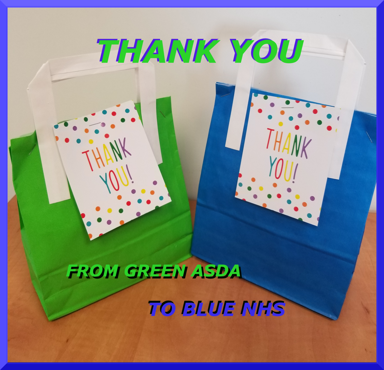 When GREEN THANKS BLUE | Asda Plymouth