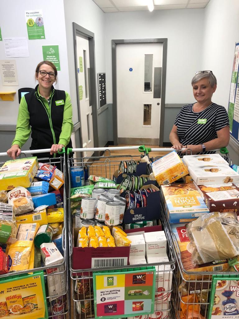 Food bank donation from Asda Wakefield | Asda Wakefield