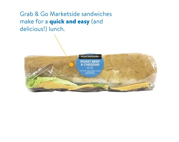 Marketside Sandwiches