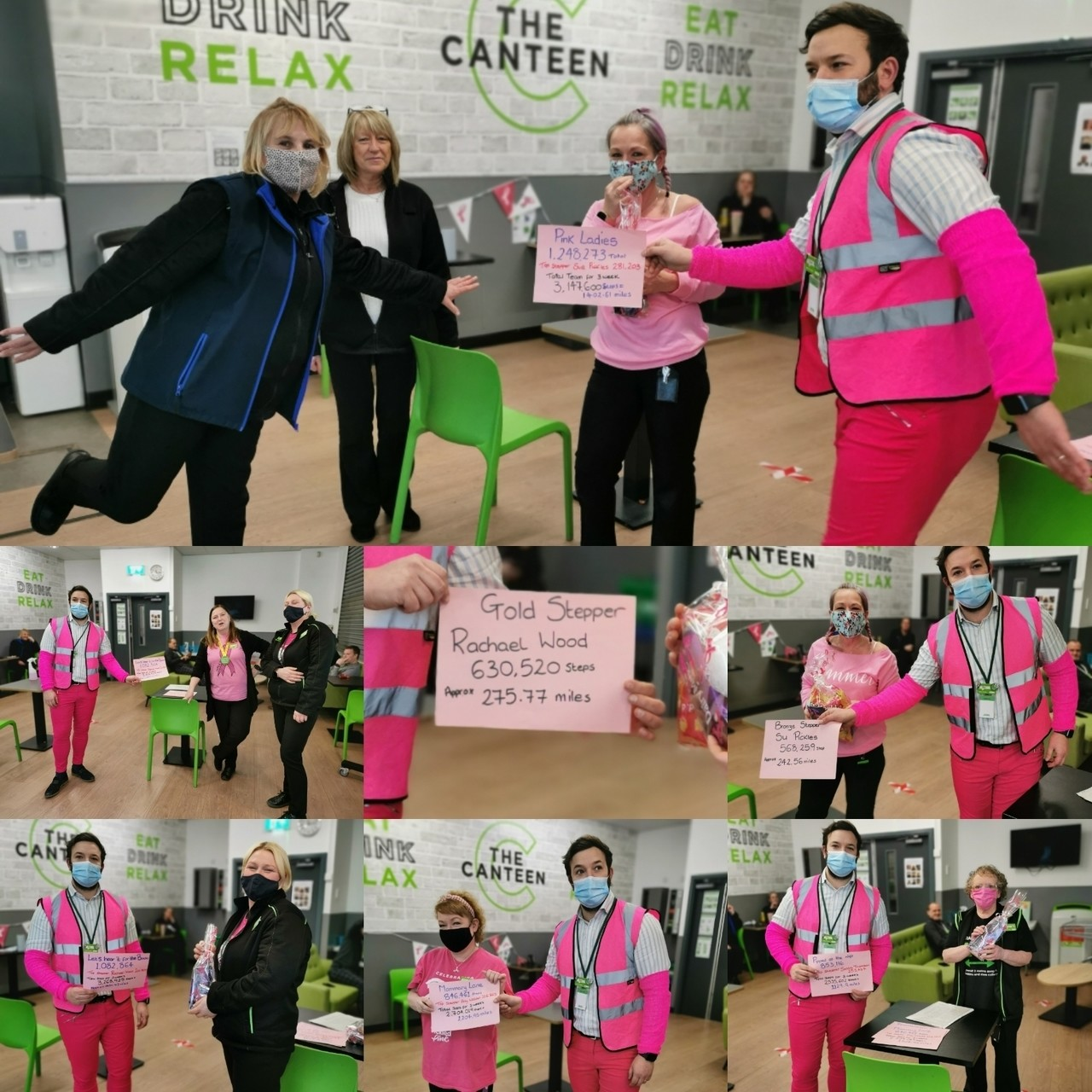 Tickled Pink walkathon | Asda Rochdale