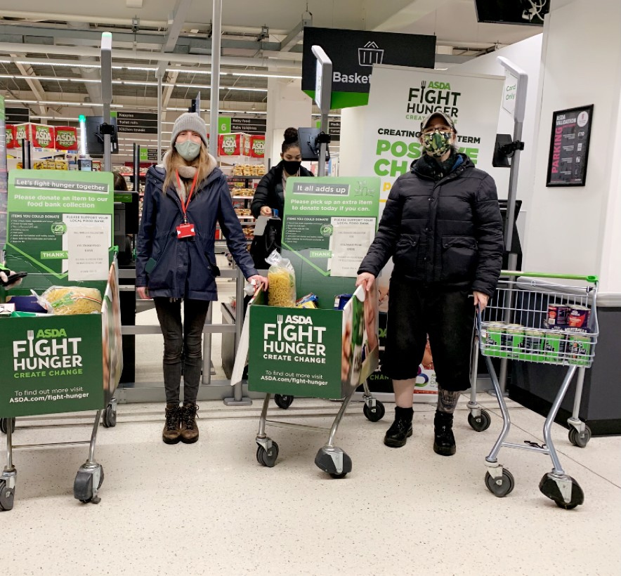 Supporting the local Salvation Army | Asda Feltham