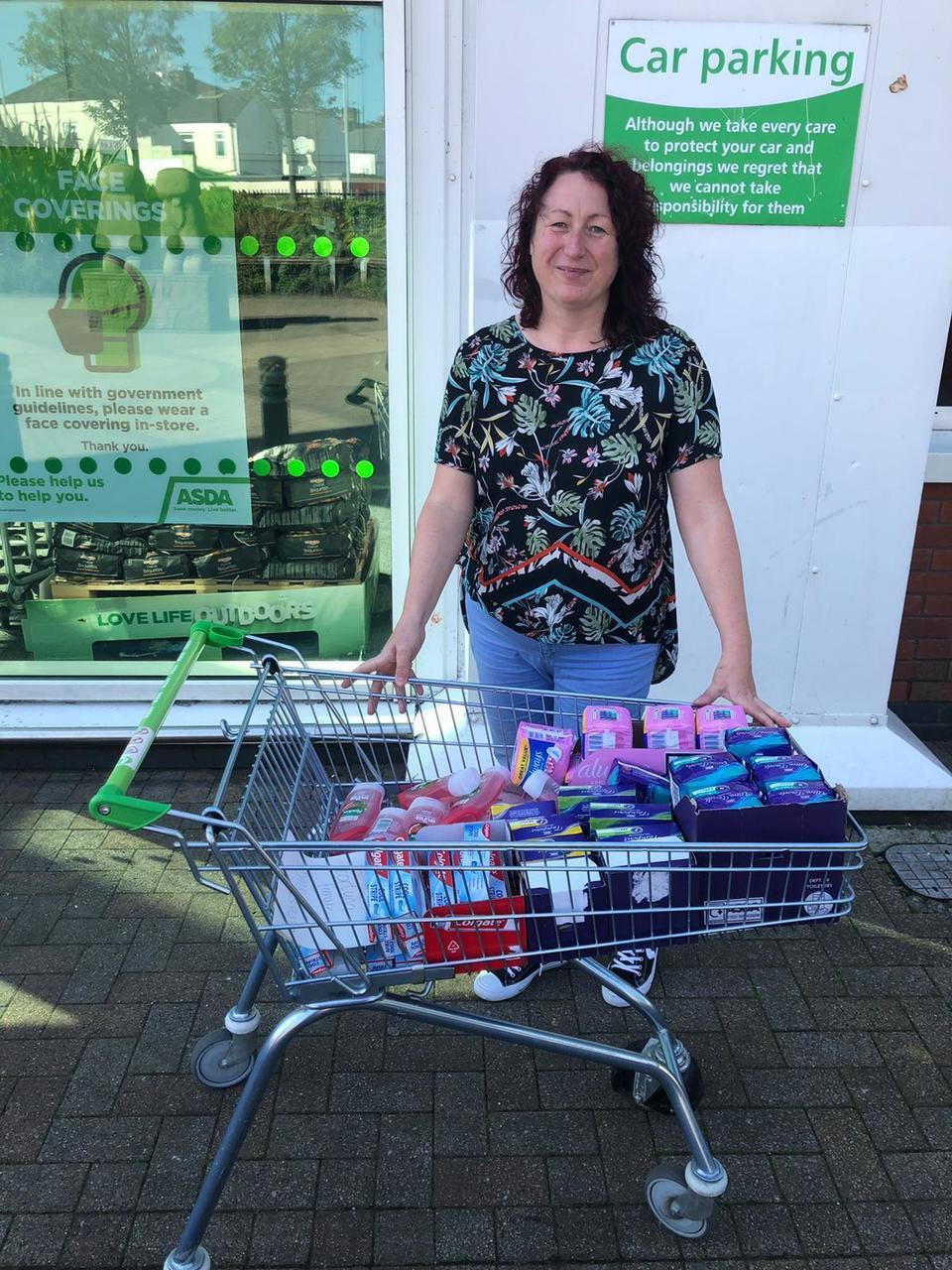 Care package donation | Asda Widnes