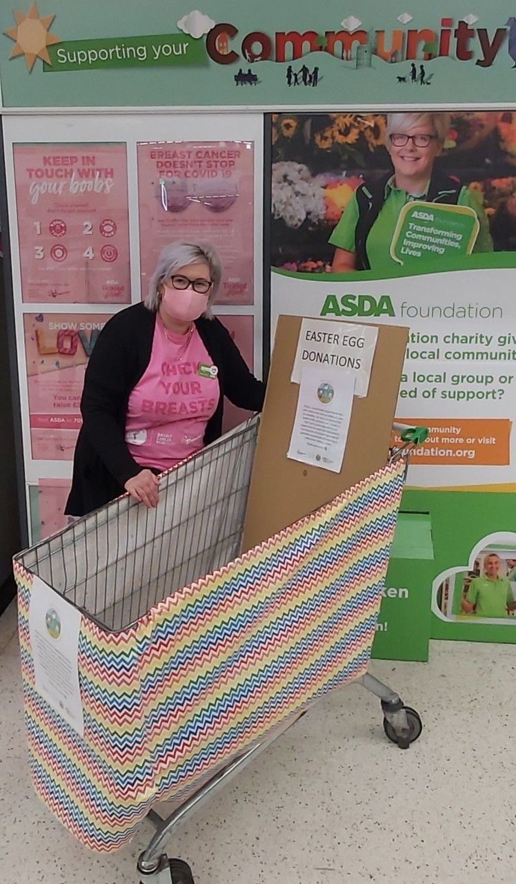 Exciting news for Pods | Asda Donnington Wood